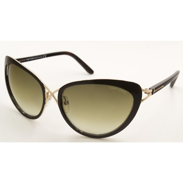 a29a6bbb20 Shop Tom Ford Women s TF0321 Daria Cat-Eye Sunglasses - Free Shipping Today  - Overstock - 11502072