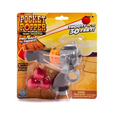Pocket Popper Sling Shooter