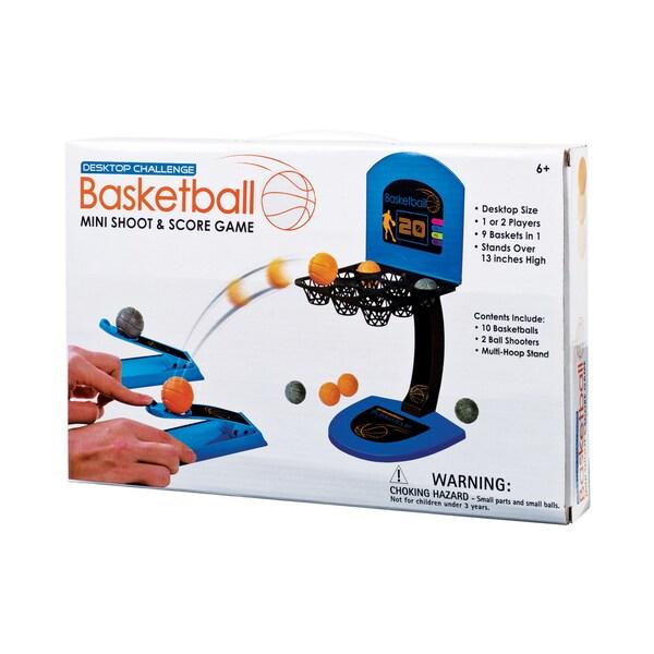 Desktop Challenge Basketball Mini Shoot and Score Game