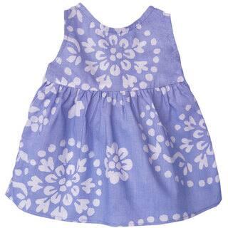 Global Mamas Handmade Baby Sundress - Violet Paisley (Ghana)|https://ak1.ostkcdn.com/images/products/11502163/P18454200.jpg?impolicy=medium