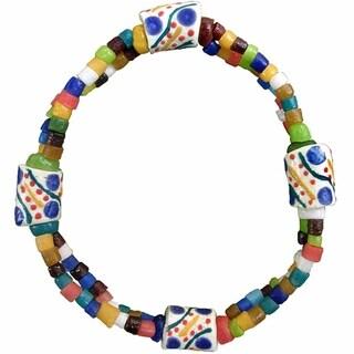 Global Mamas Festival Rainbow Bracelet (Ghana)