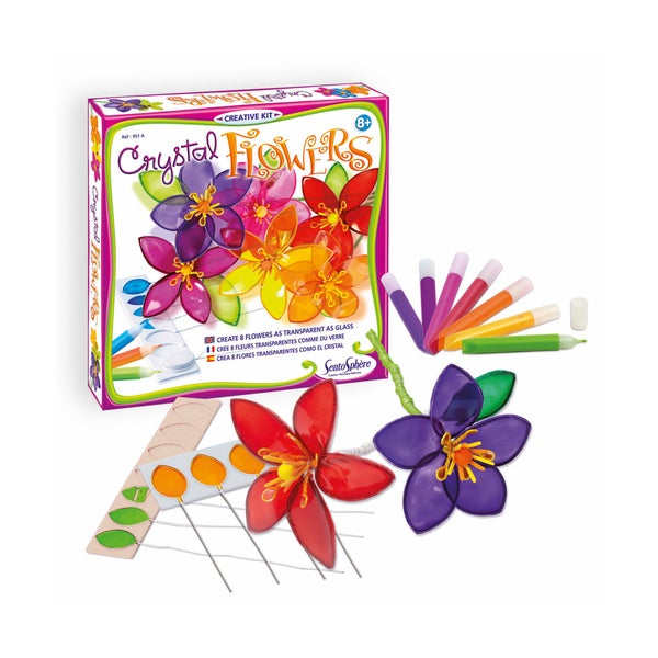 Crystal Flowers Creative Kit