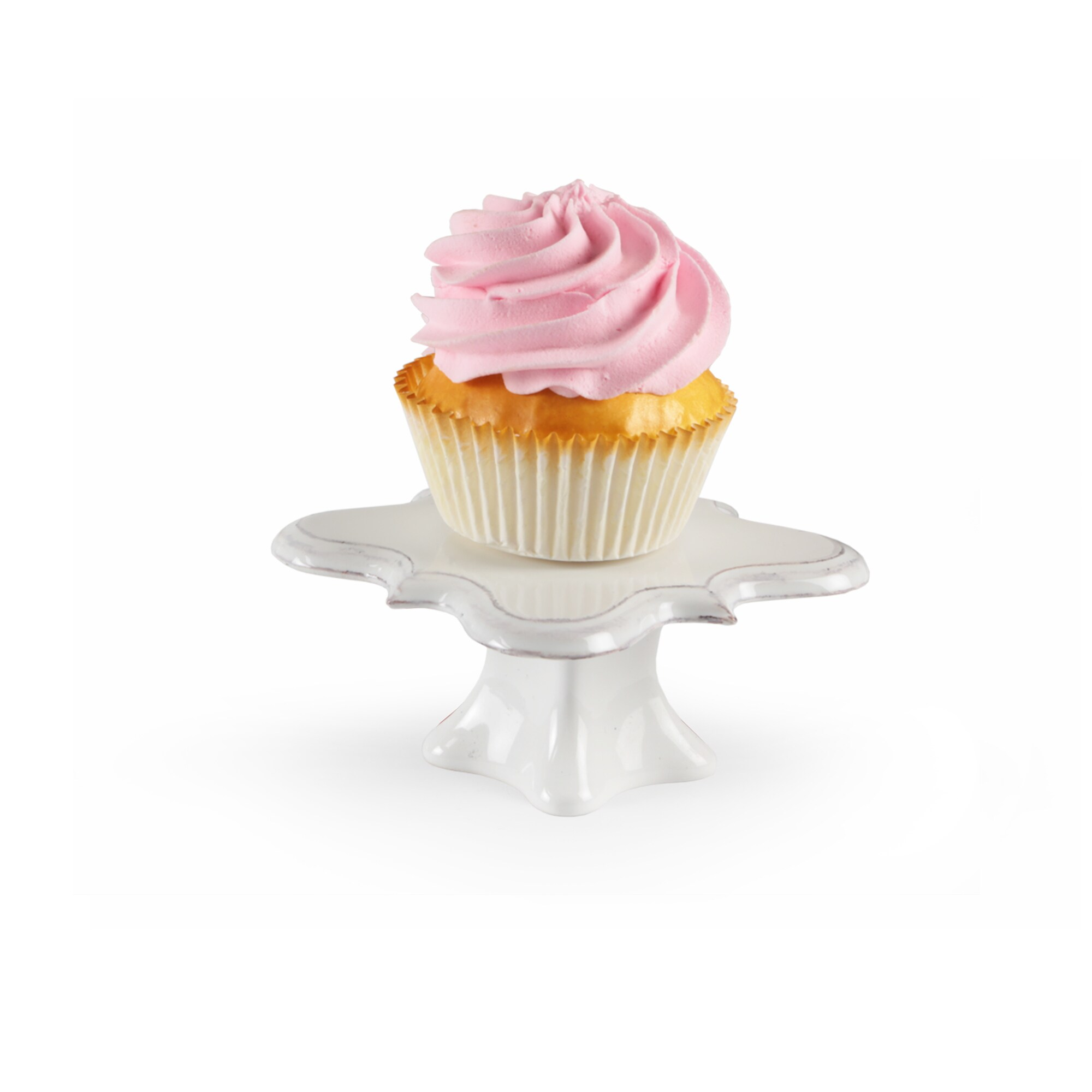 American Atelier Bianca S/4 Cup Cake Pedestal (Bianca Whi...