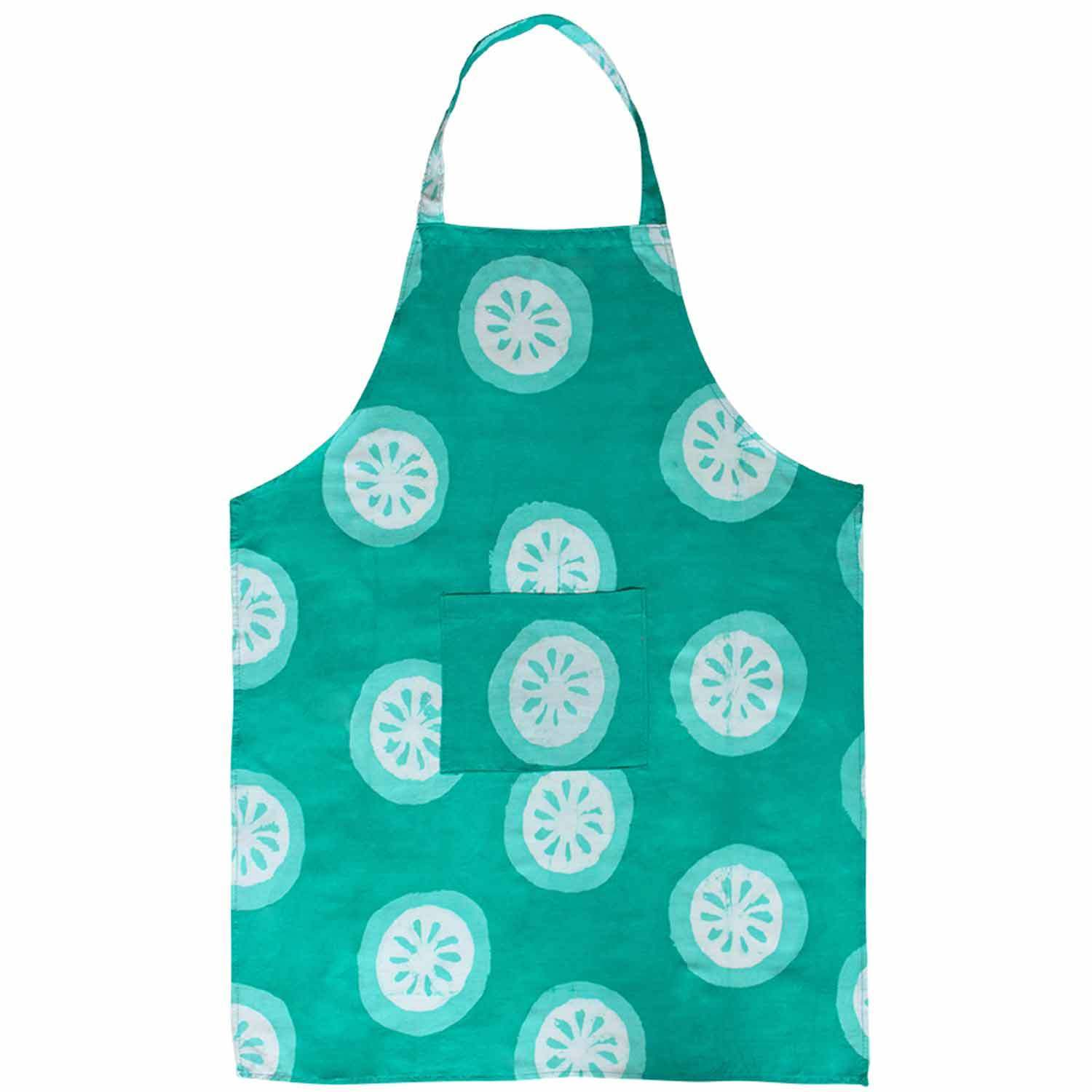 Global Crafts Global Mamas Handmade Cotton Apron - Shamro...