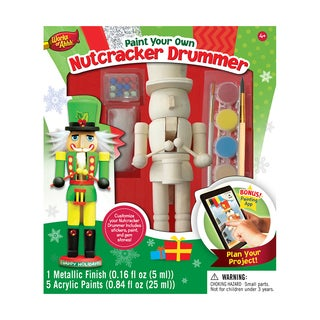 Works of Ahhh Wood Painting Kit Nutcracker Drummer