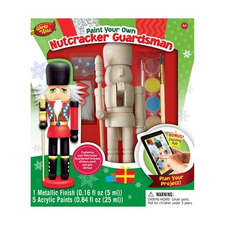 Works of Ahhh Wood Painting Kit Nutcracker Guardsman