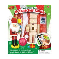 Works of Ahhh Wood Painting Kit Nutcracker Santa