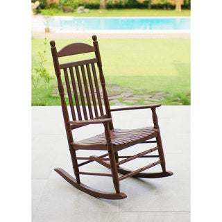 Alston Traditional Natural Rocking Chair