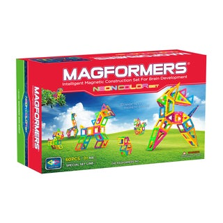 Magformers Neon Color 60-Piece Set