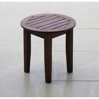 Cambridge Casual Alston Side Table - Natural Brown