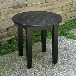 Alston Black Side Table