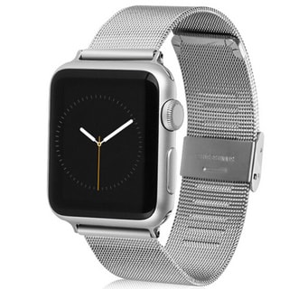 iPM Luxury Stainless Steel Tight Mesh Strap for Apple Watch