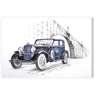 Paul Kaminer '1930 Duesenberg Town Car' Canvas Wall Art