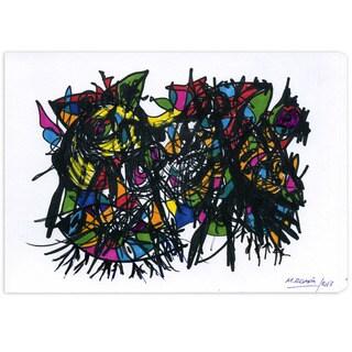 Manuel Roman 'Jungle Madness' Canvas Wall Art
