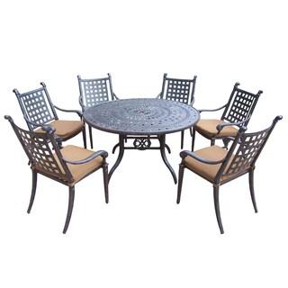 Sunbrella Aluminum Mildew Resistant 7-piece Dining Set