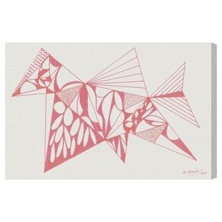 Manuel Roman 'Racing Horse' Canvas Wall Art