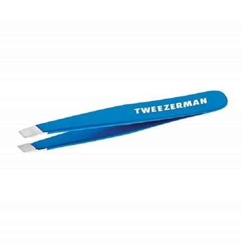 Tweezerman Mini Slant Tweezer Bahama Blue