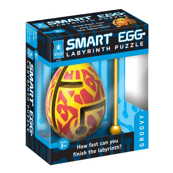 Smart Egg Labyrinth Puzzle Groovy