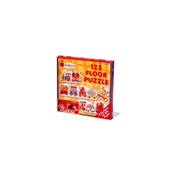 Colorforms 123 Floor Puzzle: 10 Pcs