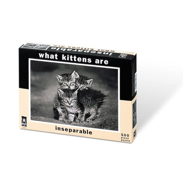 What Kittens Are Inseparable Jigsaw Puzzle: 500 Pcs