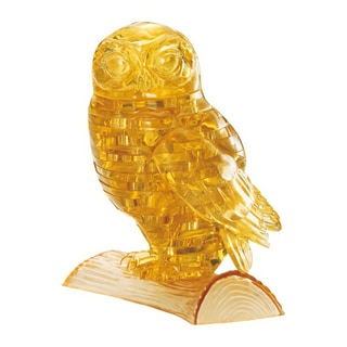 3D Crystal Puzzle Owl: 42-piece