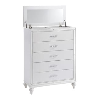 Picket House Vice Chest in White