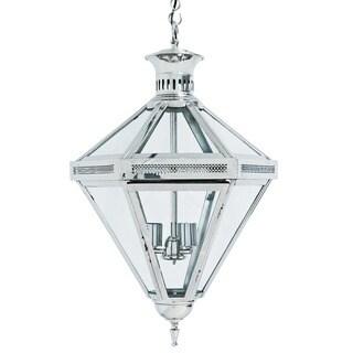Nickel Paris Diamond Hanging Lamp