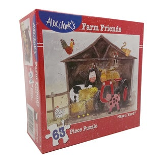 Alex Clark's Farm Friends - Barn Yard Puzzle: 63 Pcs