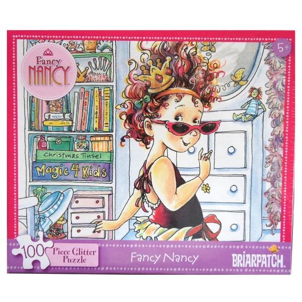 Fancy Nancy Glitter 100-Piece Puzzle