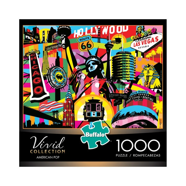 Vivid Collection American Pop: 1000-piece