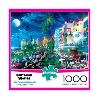Cartoon World South Beach Moonlight: 1000-piece