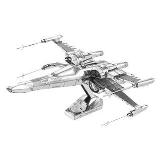 Metal Earth 3D Laser Cut Model Star Wars Episode 7 Poe Dameron's X-Wing Fighter