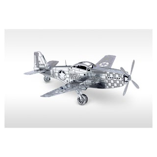 Metal Earth 3D Laser Cut Model P-51 Mustang