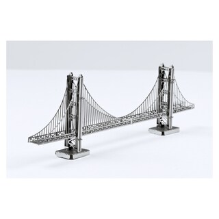 Metal Earth 3D Laser Cut Model Golden Gate Bridge