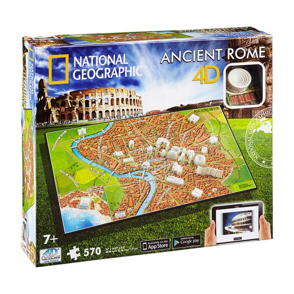 4D Cityscape Time Puzzle National Geographic Ancient Rome: 570-piece