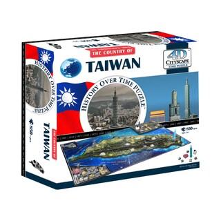 4D Cityscape Time Puzzle Taiwan: 850 Pcs