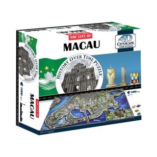 4D Cityscape Time Puzzle Macau, China: 1000 Pcs