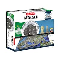 4D Cityscape Time Puzzle Macau, China: 1000 Pcs