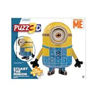 Puzz 3D Despicable Me Minion Made Stuart The Minion 3D Puzzle: 91 Pcs