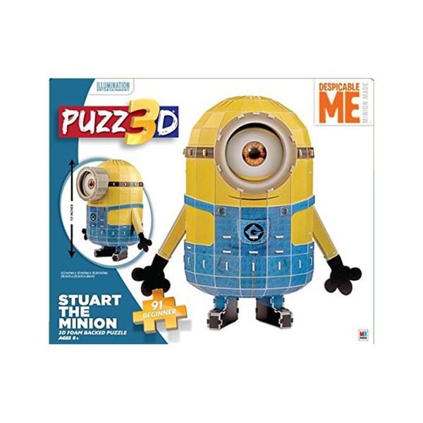 Puzz 3D Despicable Me Minion Made Stuart The Minion 3D Puzzle: 91 Pcs