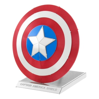 Metal Earth 3D Laser Cut Model Marvel Avengers Captain America's Shield