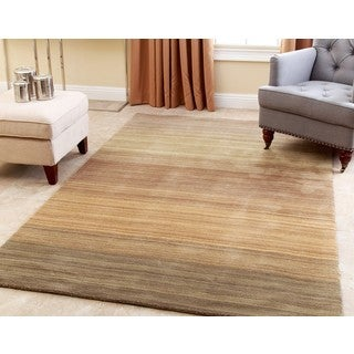 ABBYSON LIVING Hand-loom Knotted Alexia New Zealand Wool Rug (5' x 8')
