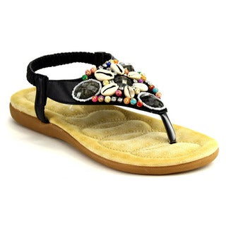 Bella Marie Nellie-1 Flat Thong Sandals