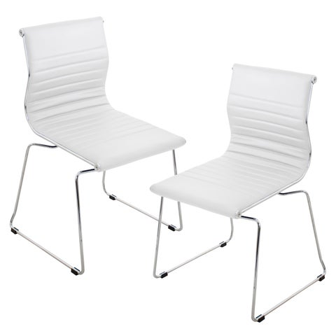 Master Contemporary Stackable Chairs (Set of 2)
