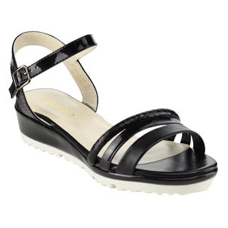Bella Marie Moxie-2 Flatform Strappy Sandals