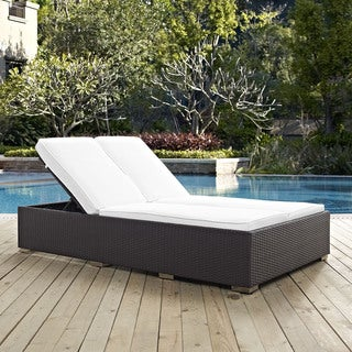 Gather Double Outdoor Patio Chaise