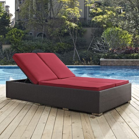 Havenside Home Bocabec Double Outdoor Patio Chaise