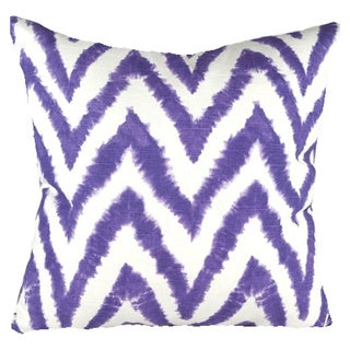 Ikat Chevron Pillow Cover