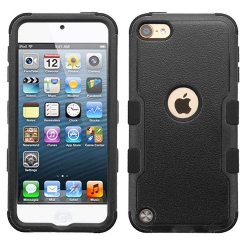 Insten Tuff Hard PC/ Silicone Dual Layer Hybrid Rubberized Matte Case Cover for Apple iPod Touch 5th Gen/ 6th Gen