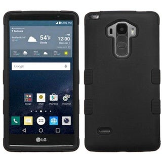 Insten Tuff Hard PC/ Silicone Dual Layer Hybrid Rubberized Matte Case Cover for LG G Stylo/ G Vista 2